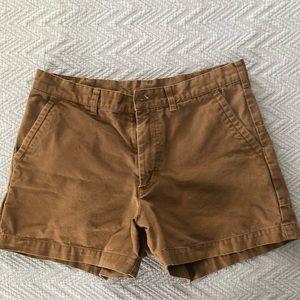 Men's Patagonia Dark Khaki Shorts